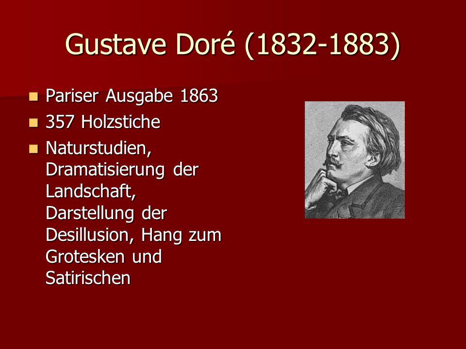Gustave Doré (1832-1883) Pariser Ausgabe 1863 357 Holzstiche