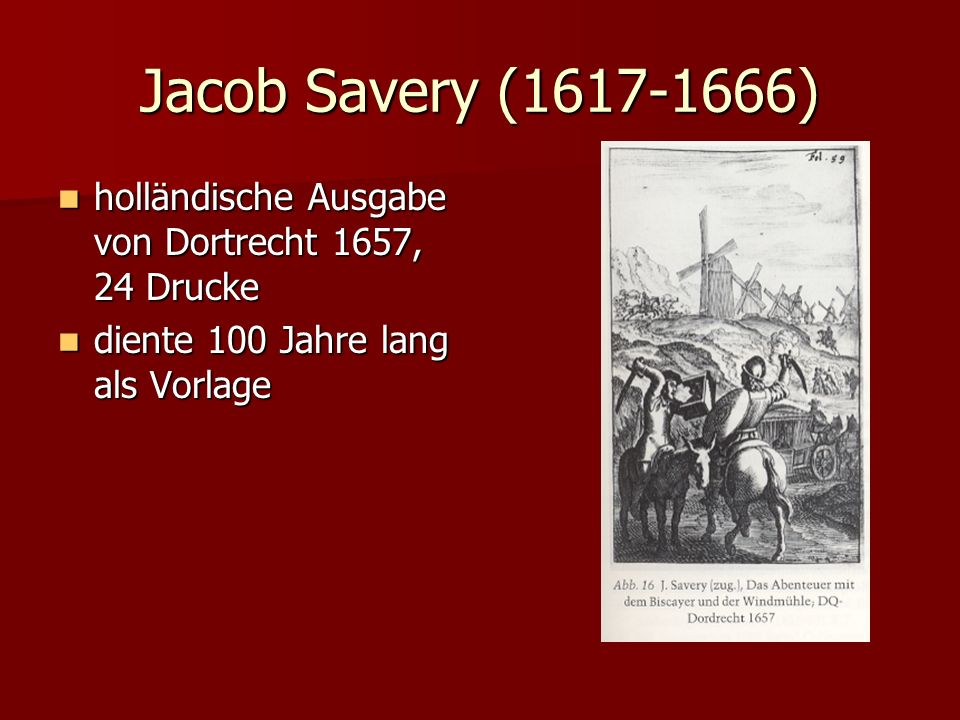 Jacob Savery (1617-1666)holländische Ausgabe von Dortrecht 1657, 24 Drucke.