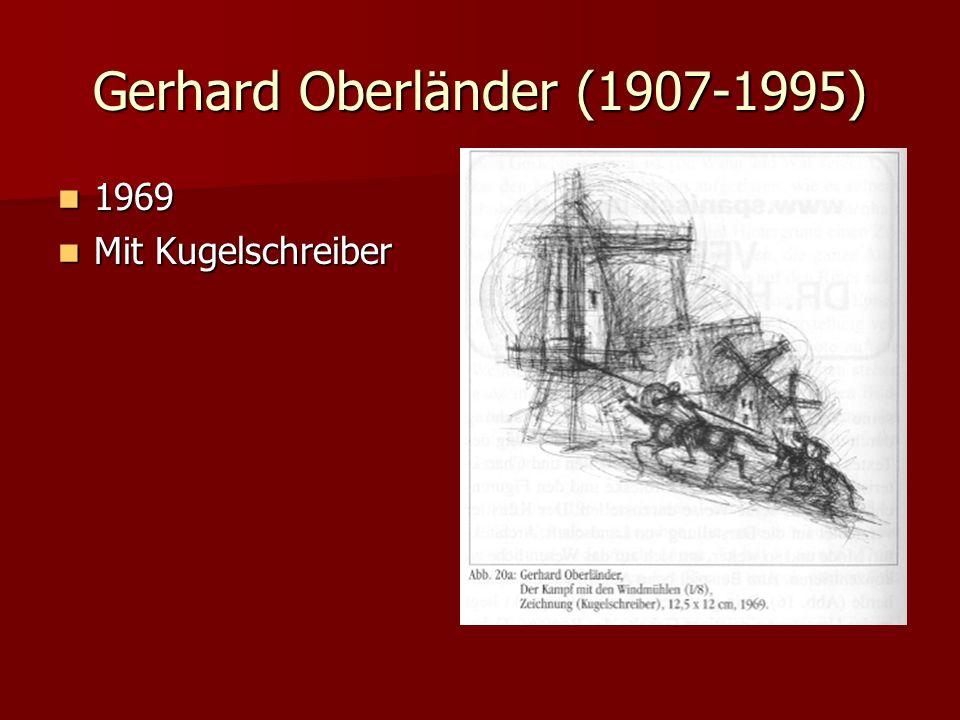 Gerhard Oberländer (1907-1995)