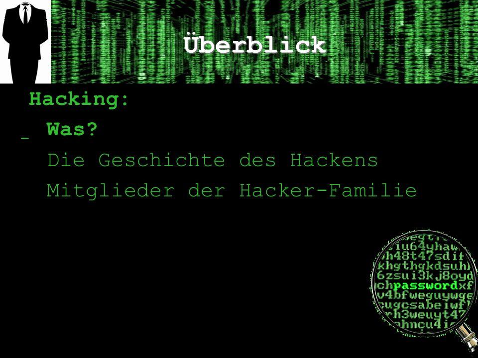 Überblick Hacking: Was Die Geschichte des Hackens