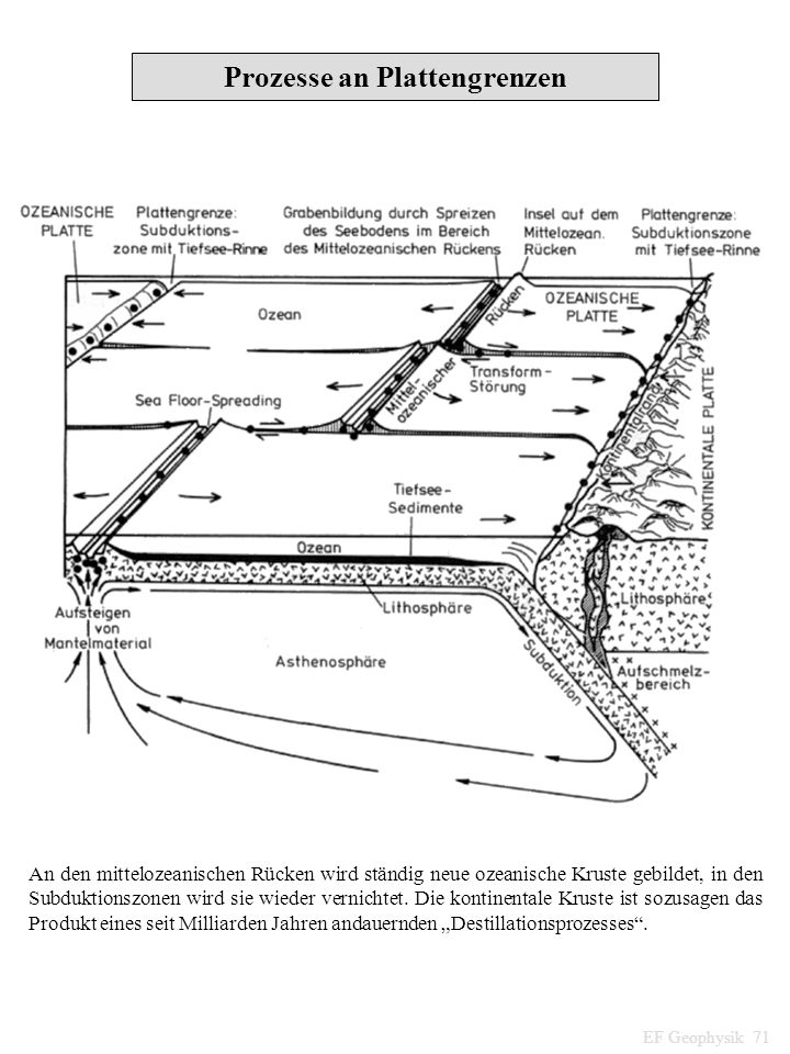 Prozesse an Plattengrenzen