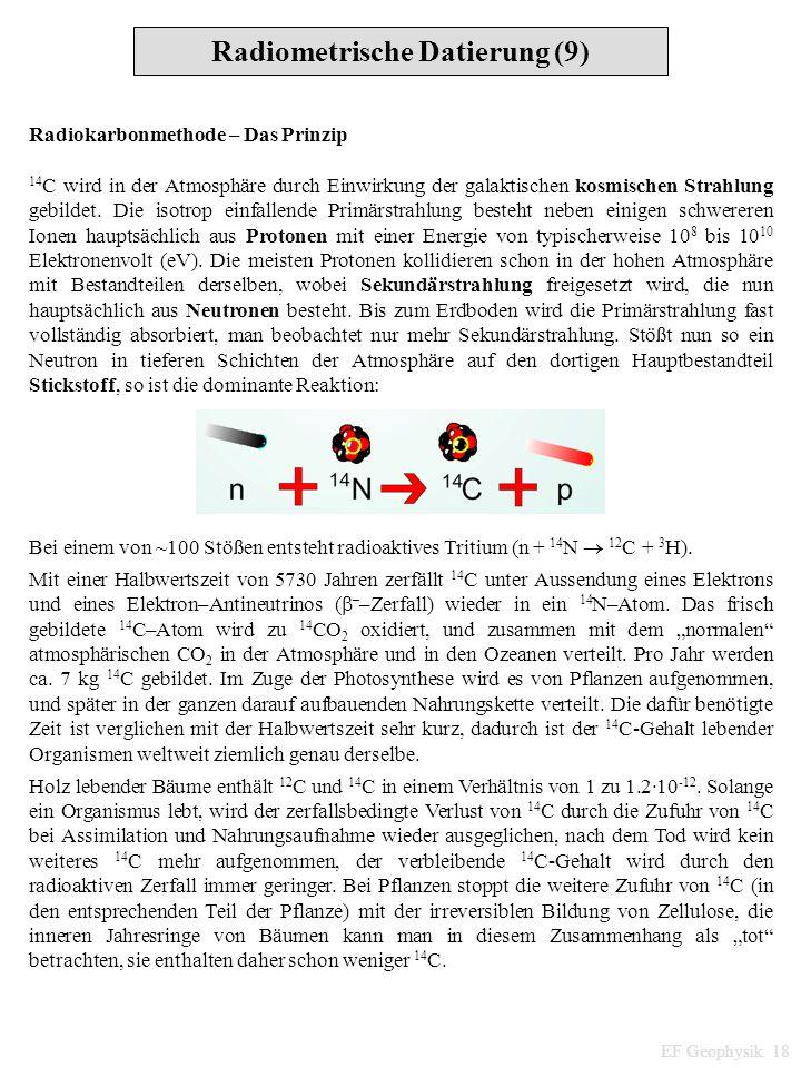 Radiometrische Datierung (9)