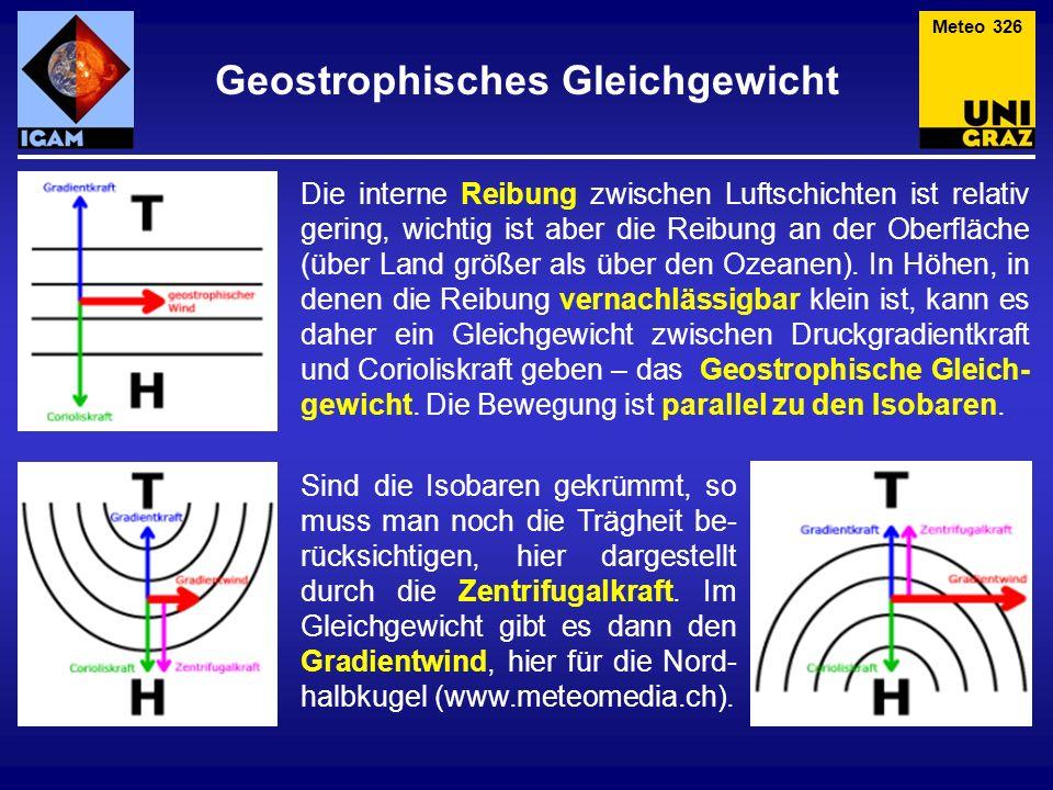 Geostrophisches Gleichgewicht