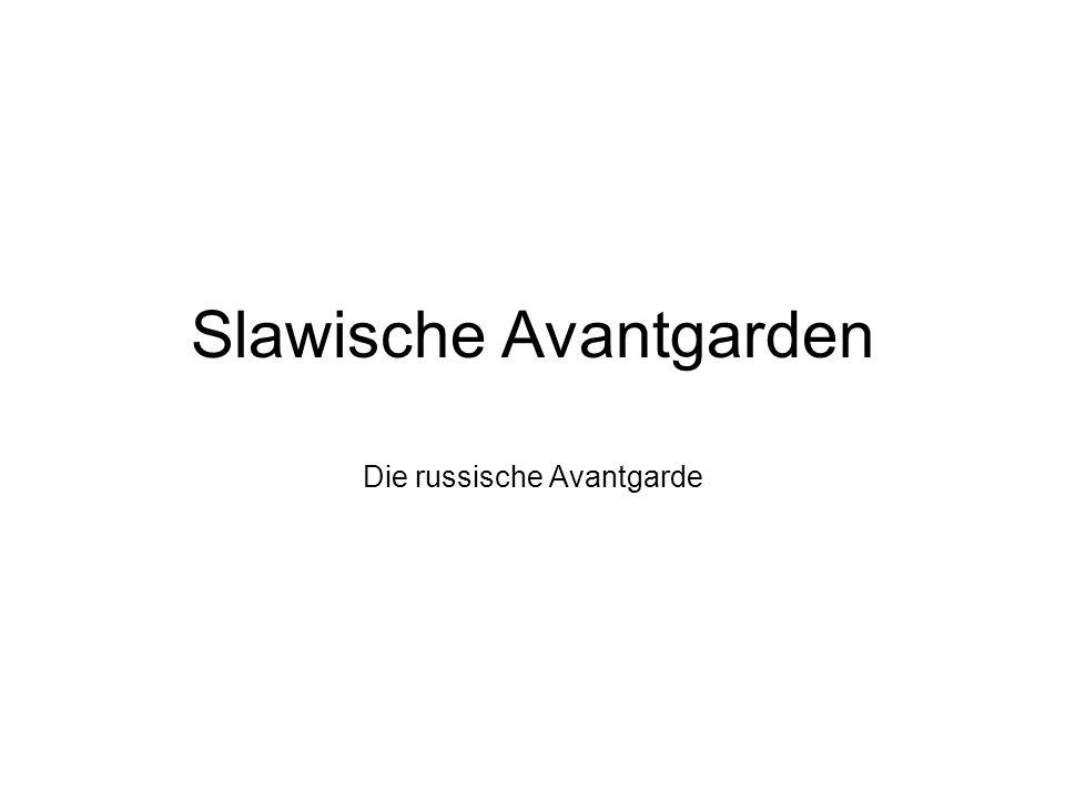 Slawische Avantgarden