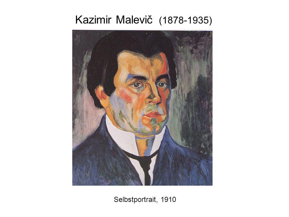Kazimir Malevič (1878-1935) Selbstportrait, 1910