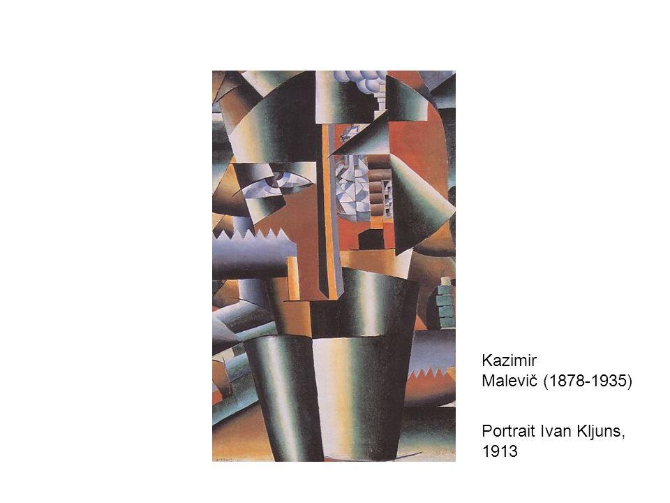 Kazimir Malevič (1878-1935) Portrait Ivan Kljuns, 1913