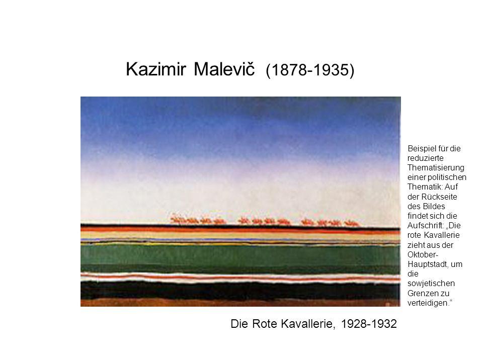 Kazimir Malevič (1878-1935) Die Rote Kavallerie, 1928-1932