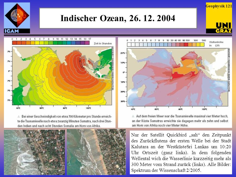 Geophysik 121Indischer Ozean, 26. 12. 2004. cm.