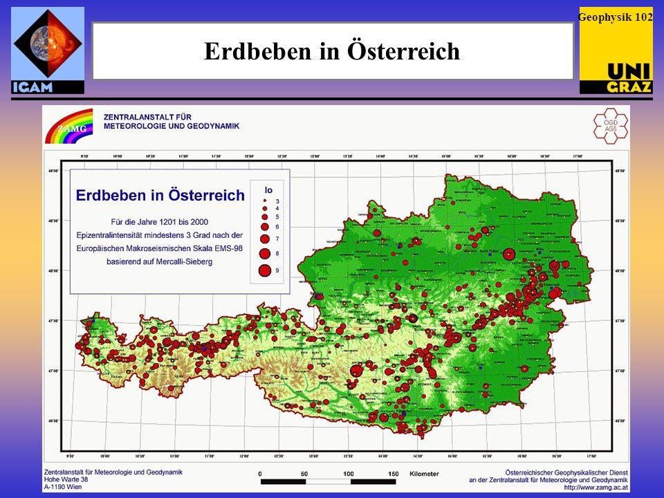 Erdbeben in Österreich