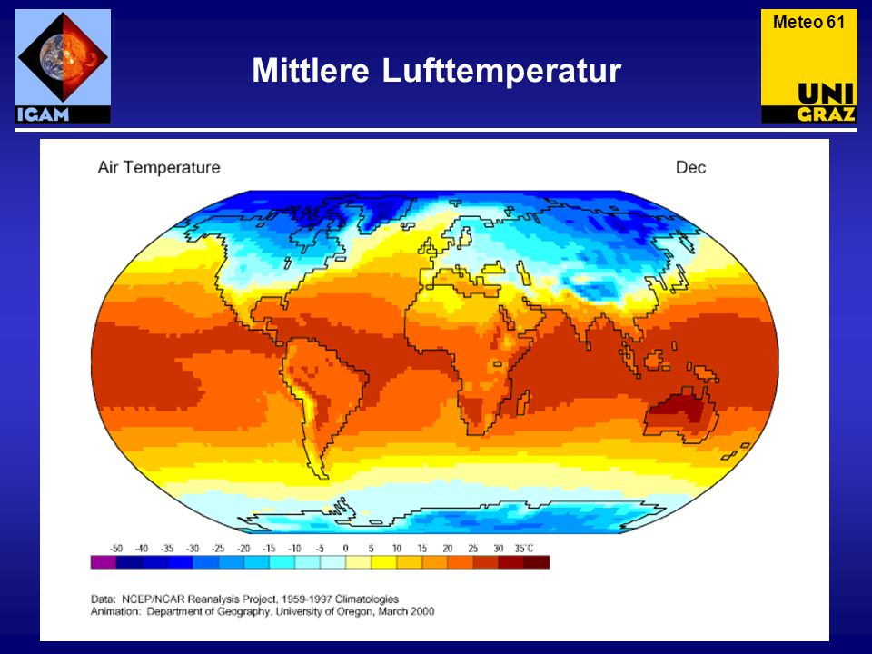 Mittlere Lufttemperatur