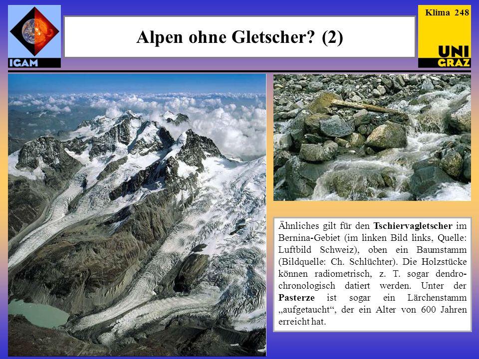 Alpen ohne Gletscher (2)