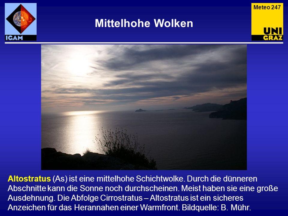 Meteo 247 Mittelhohe Wolken.