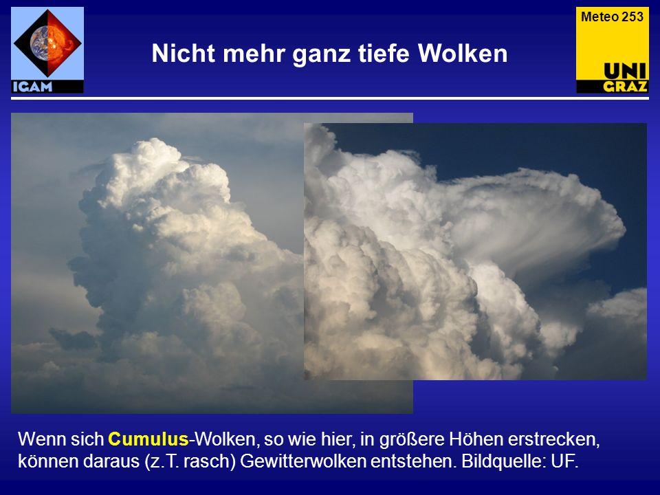 Nicht mehr ganz tiefe Wolken