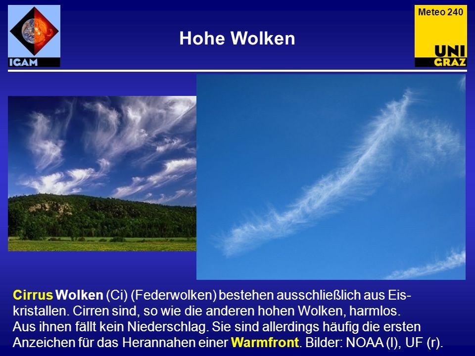 Meteo 240 Hohe Wolken.