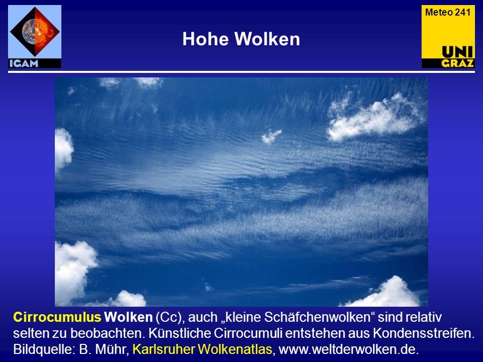 Meteo 241 Hohe Wolken.
