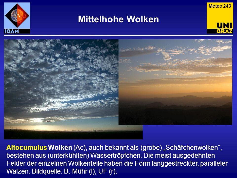 Meteo 243 Mittelhohe Wolken.