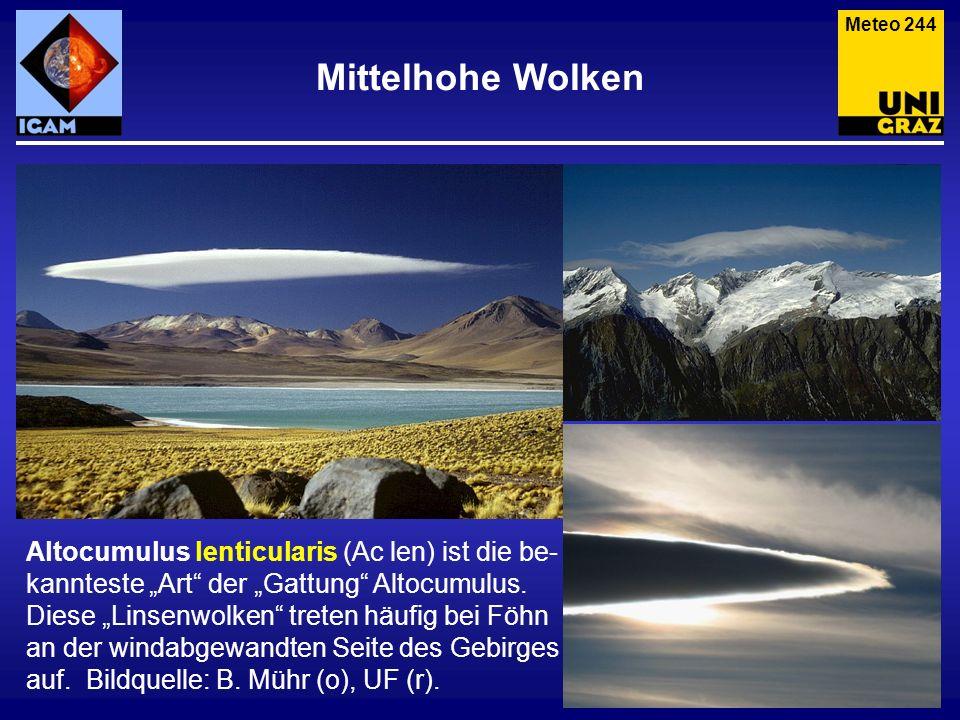 Meteo 244 Mittelhohe Wolken.