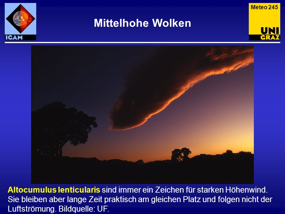Meteo 245 Mittelhohe Wolken.