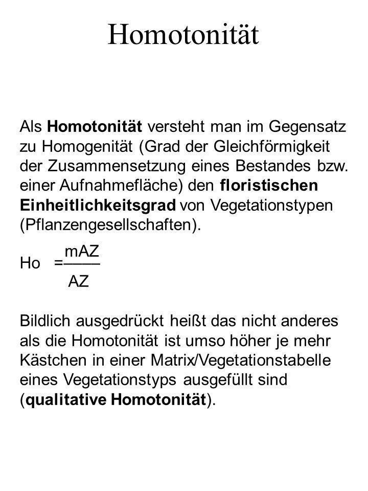 Homotonität