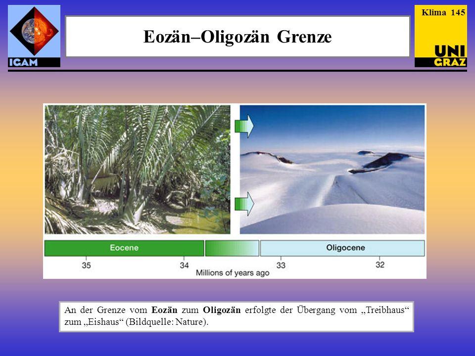Eozän–Oligozän Grenze