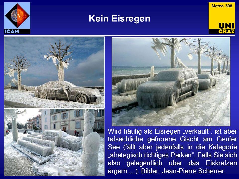 Meteo 308 Kein Eisregen.