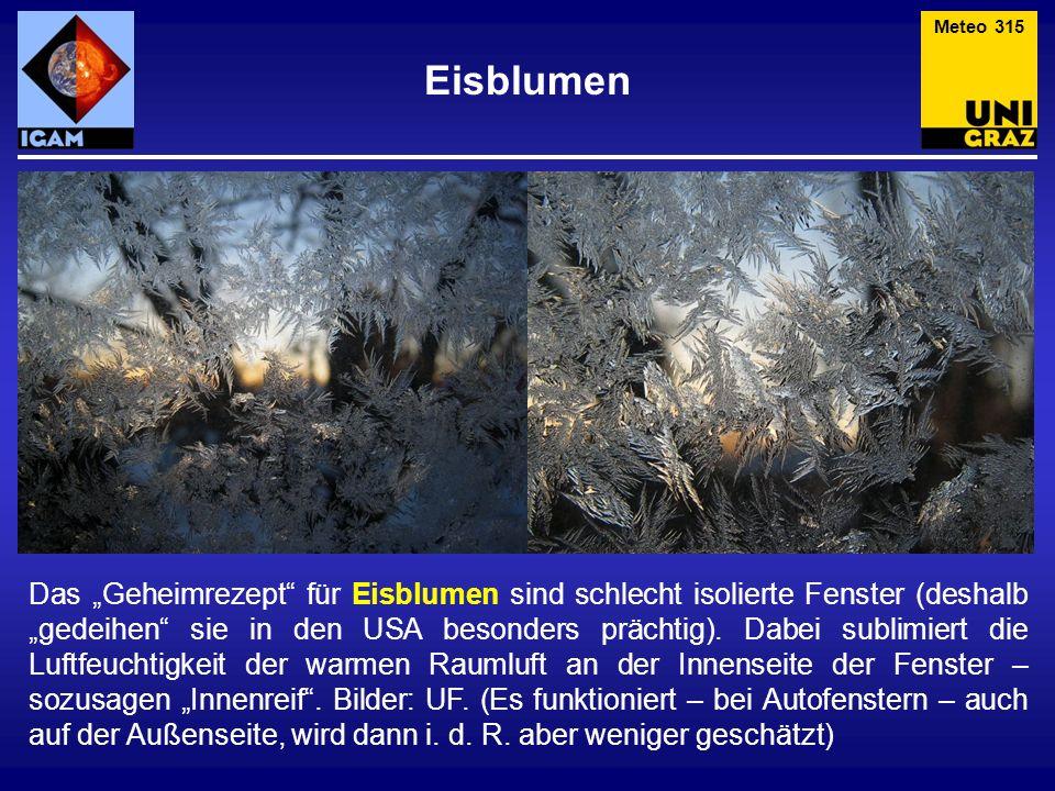 Meteo 315 Eisblumen.