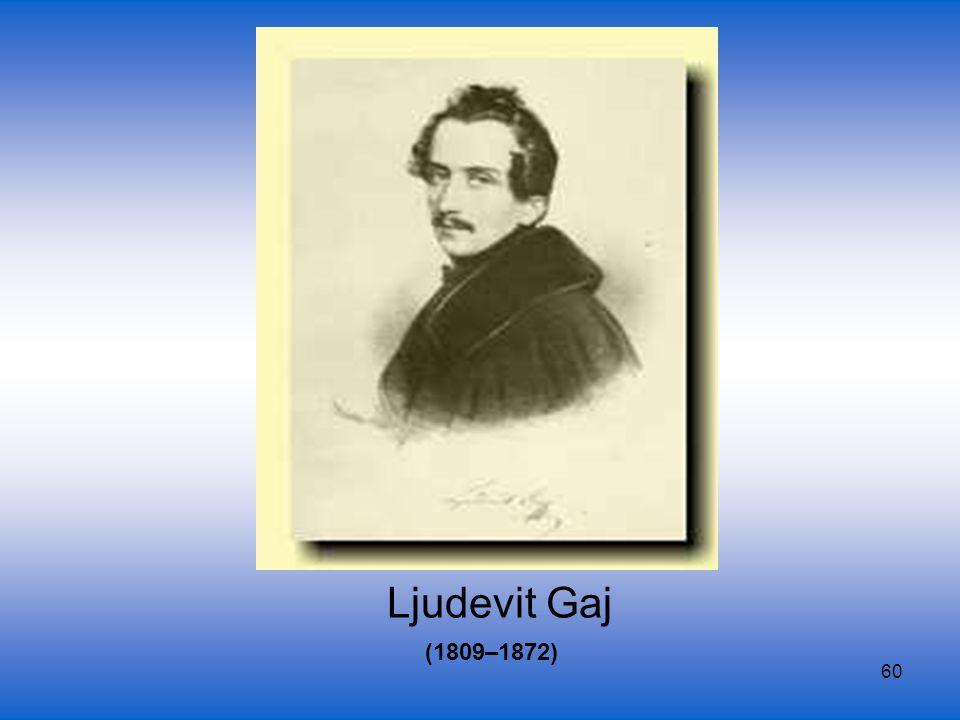 Ljudevit Gaj (1809–1872)