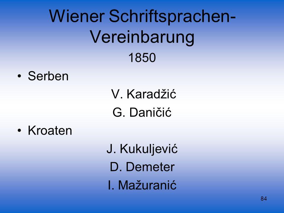 Wiener Schriftsprachen-Vereinbarung