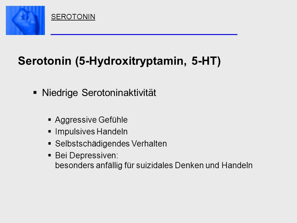 Serotonin (5-Hydroxitryptamin, 5-HT)