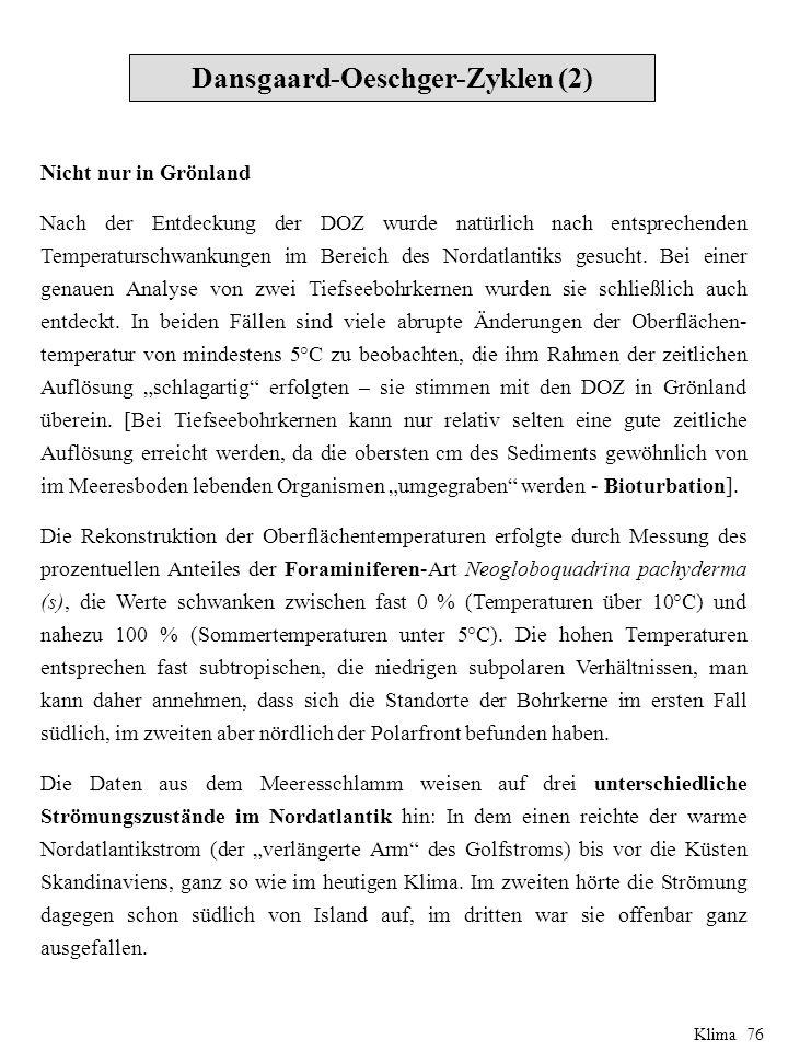 Dansgaard-Oeschger-Zyklen (2)