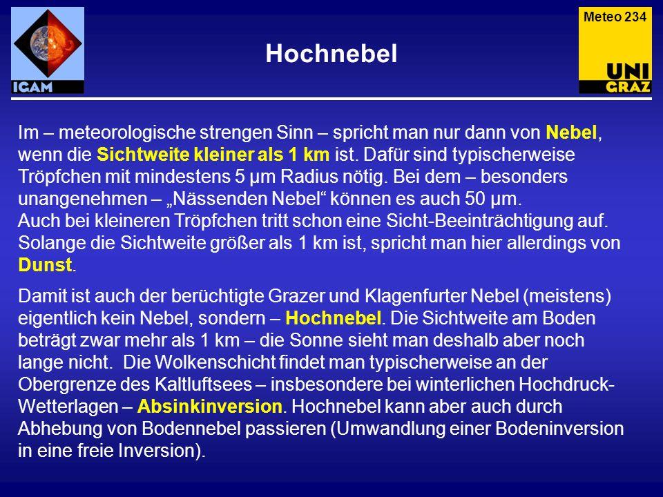 Meteo 234 Hochnebel.
