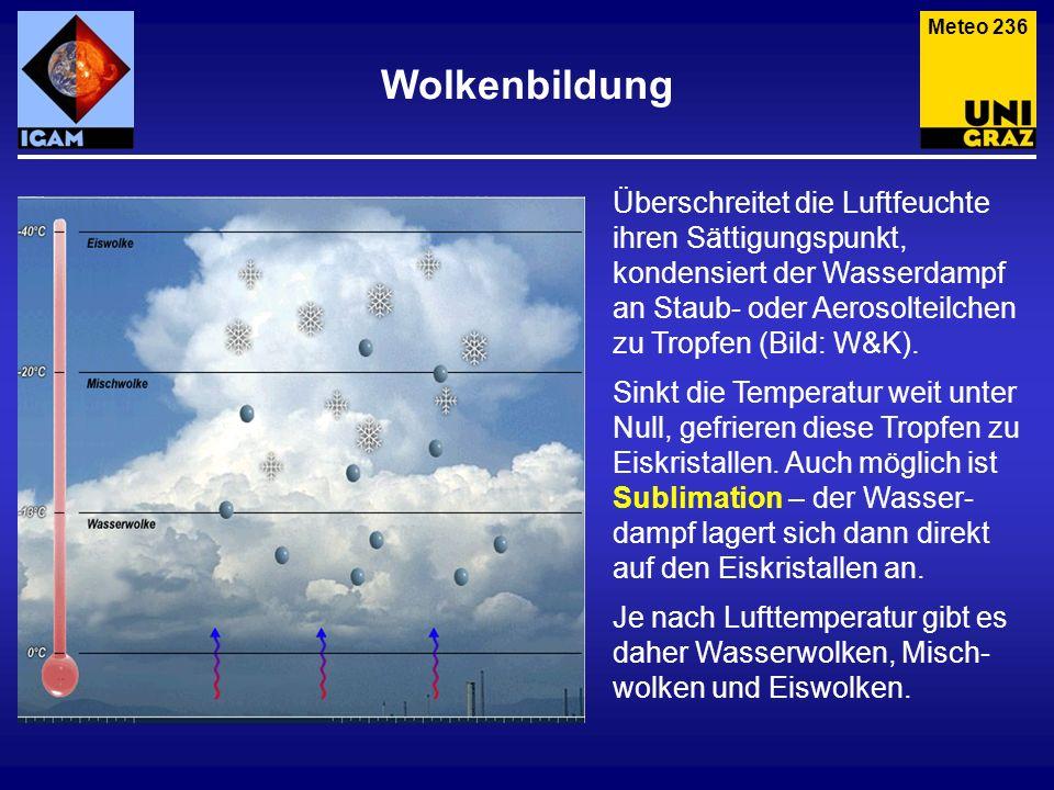 Meteo 236 Wolkenbildung.