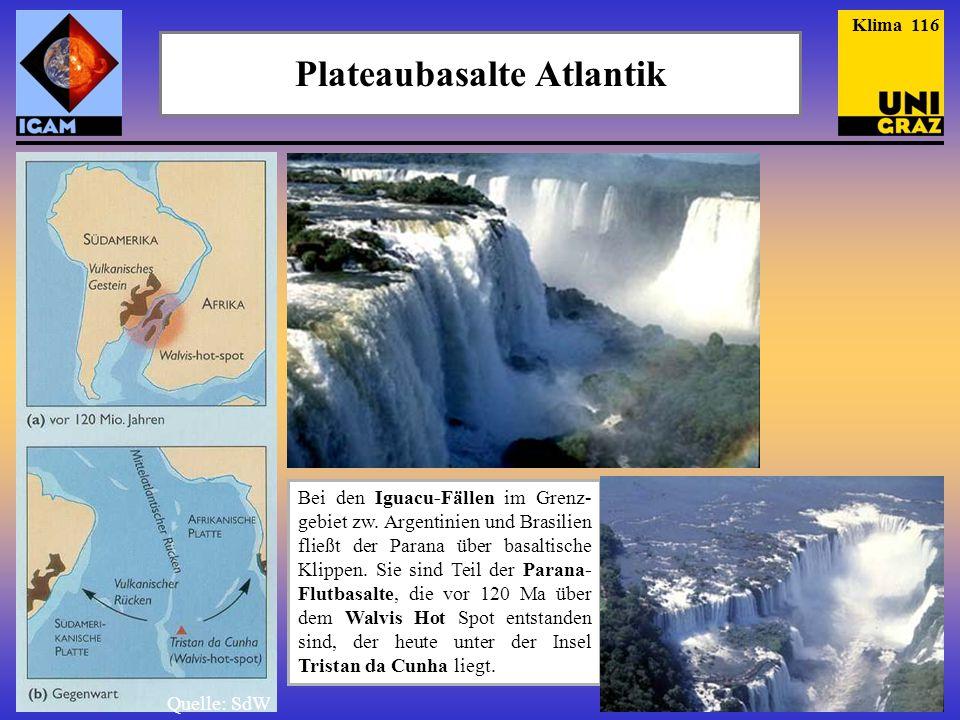 Plateaubasalte Atlantik