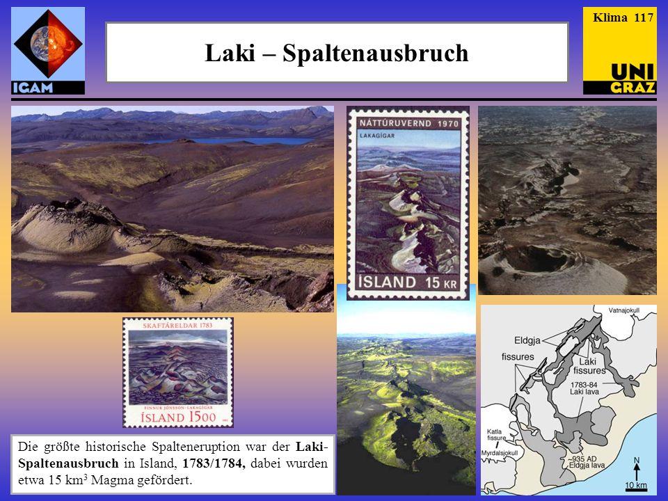 Laki – Spaltenausbruch