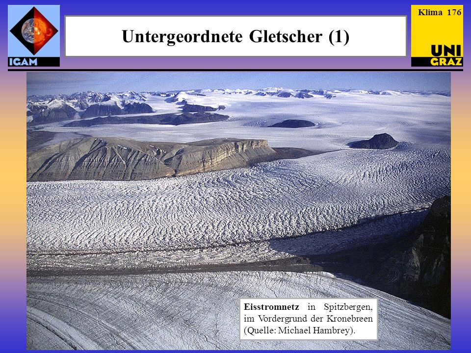 Untergeordnete Gletscher (1)