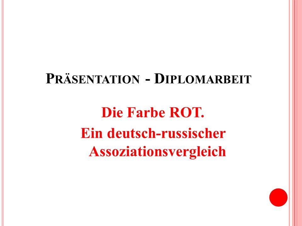 Präsentation - Diplomarbeit