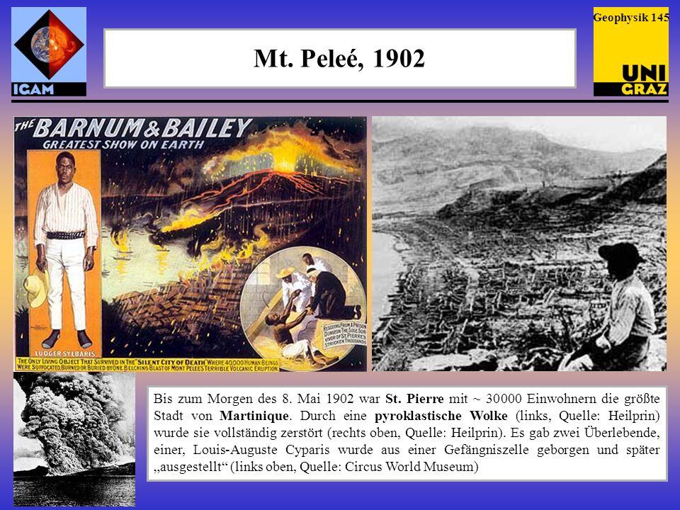 Geophysik 145 Mt. Peleé, 1902.