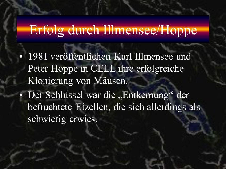 Erfolg durch Illmensee/Hoppe