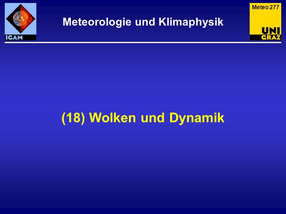 Meteorologie und Klimaphysik