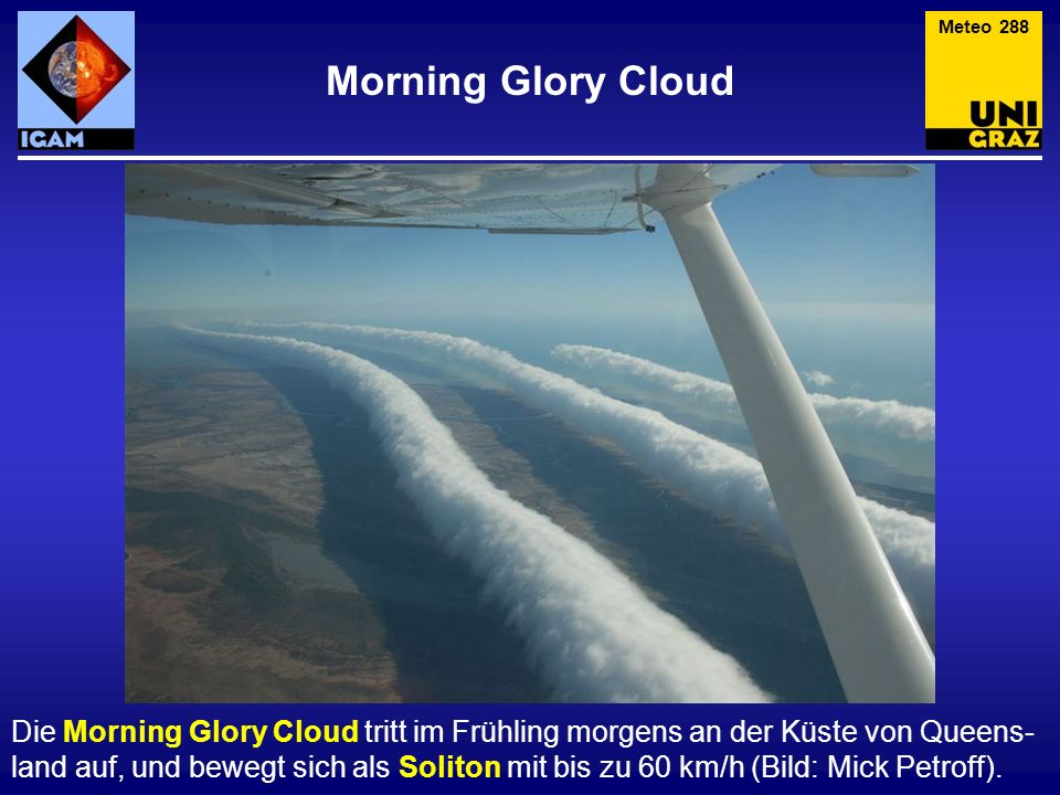 Meteo 288 Morning Glory Cloud.