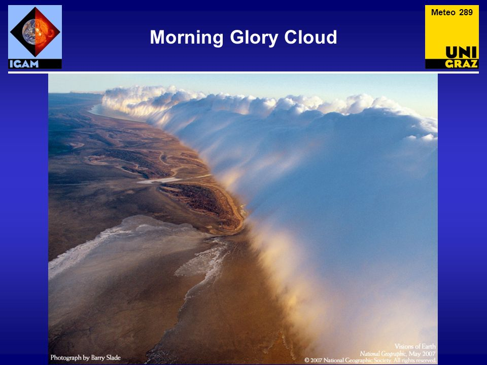 Meteo 289 Morning Glory Cloud