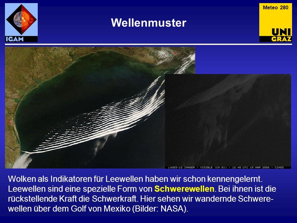 Meteo 280 Wellenmuster.