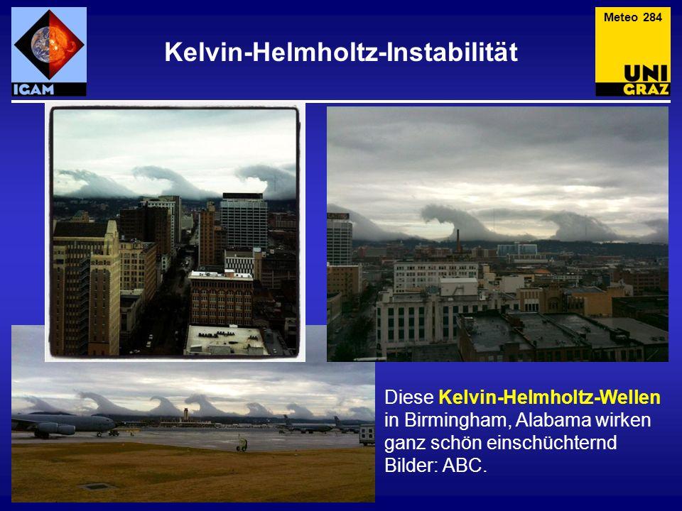 Kelvin-Helmholtz-Instabilität