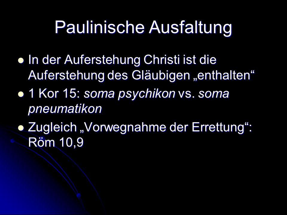 Paulinische Ausfaltung