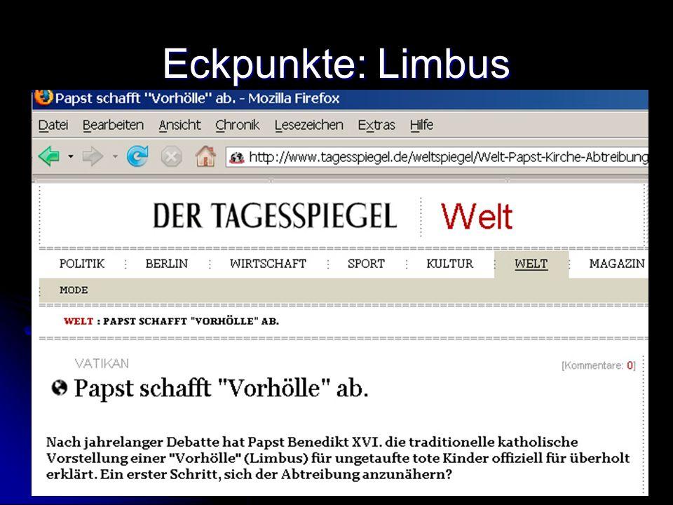Eckpunkte: Limbus