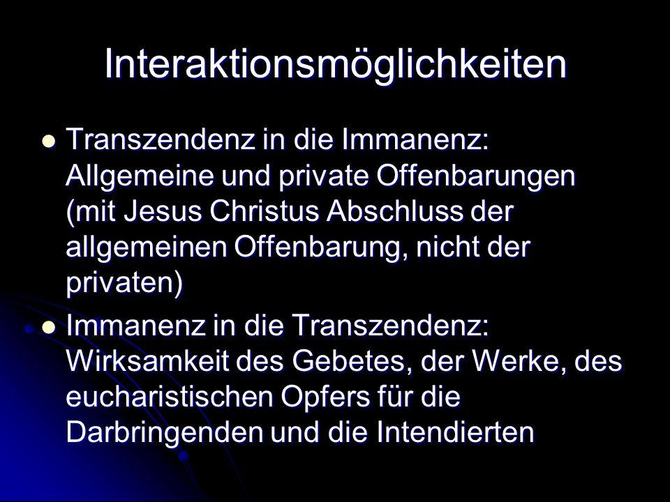 Interaktionsmöglichkeiten