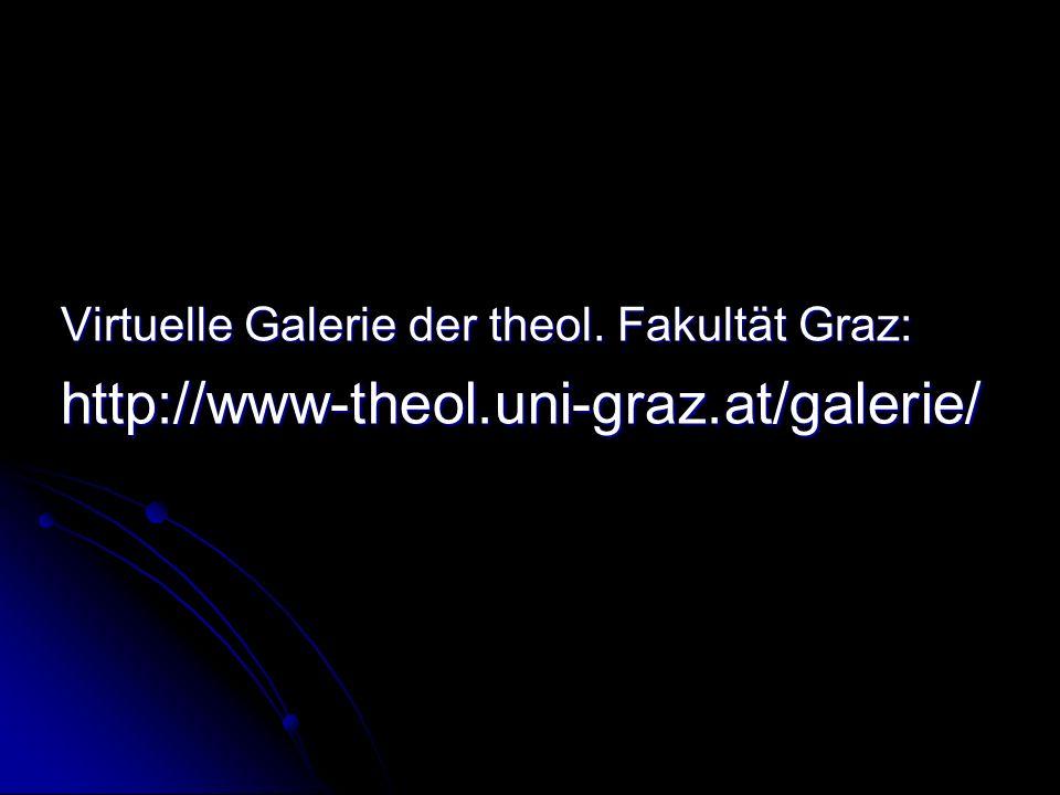 Virtuelle Galerie der theol. Fakultät Graz: