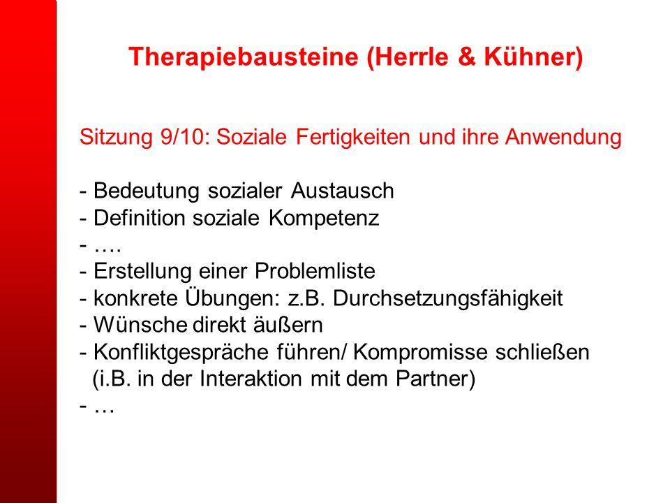 Therapiebausteine (Herrle & Kühner)