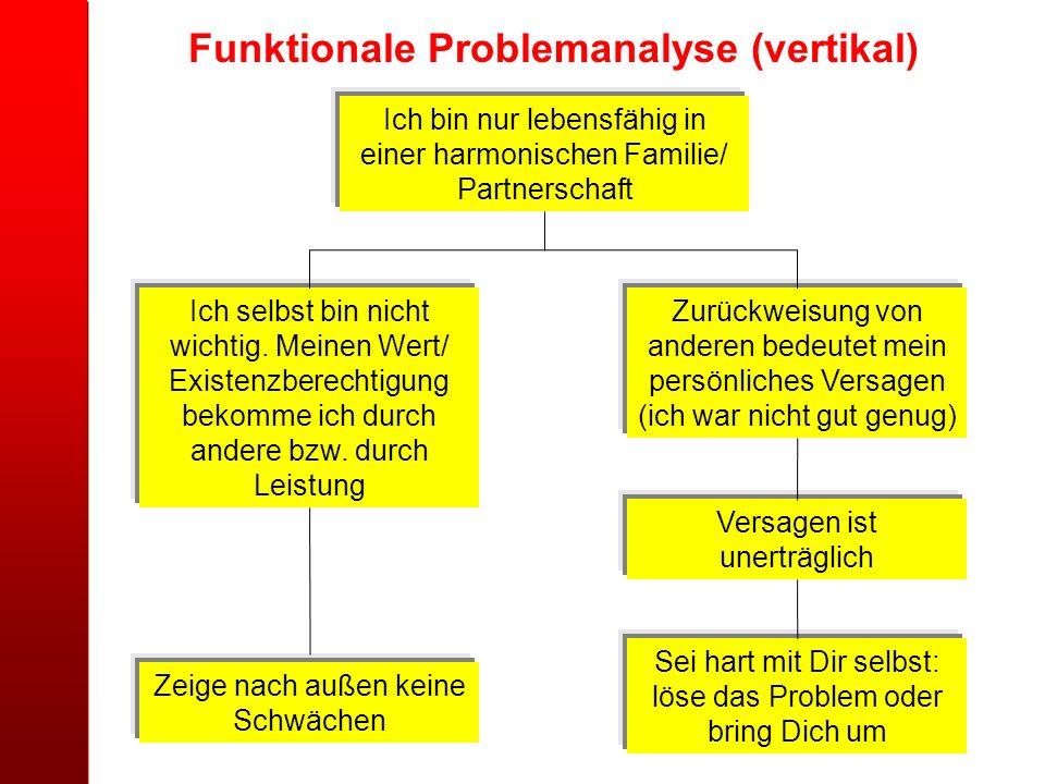 Funktionale Problemanalyse (vertikal)
