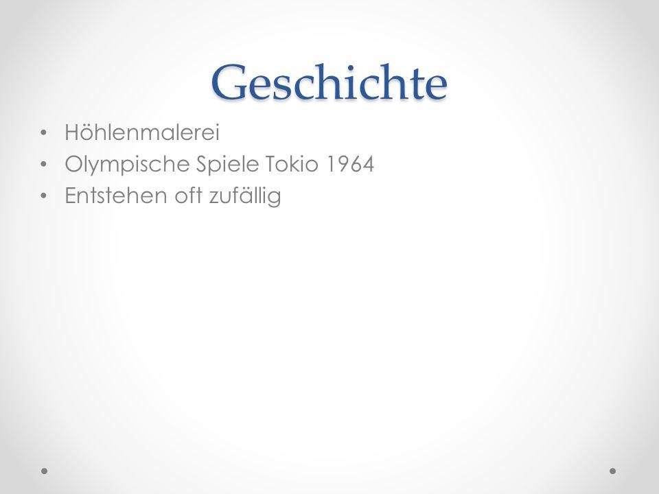 Geschichte Höhlenmalerei Olympische Spiele Tokio 1964
